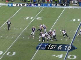 Watch: QB Brady to WR Welker, 36-yd, pass