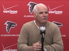 Video - Atlanta Falcons head coach Mike Smith: 'We didn't make enough plays to win'