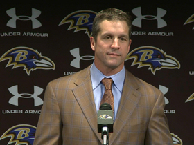 Video - John Harbaugh and Baltimore Ravens ready for challenge