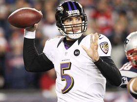Video - Baltimore Ravens quarterback Joe Flacco: Super Bowl quarterback