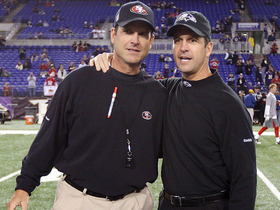 Watch: Which Harbaugh has had the better season?