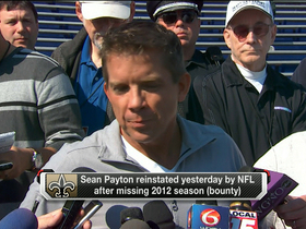 Video - Sean Payton: 'The hardest part was not having the personal interaction'