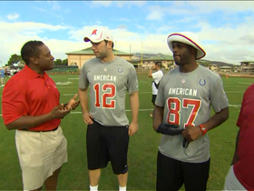 Video - Andrew Luck and Reggie Wayne enjoying Pro Bowl