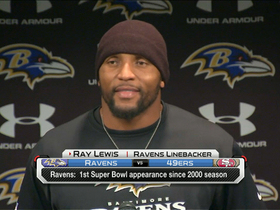 Video - Baltimore Ravens linebacker Ray Lewis on final game: 'It's going to be a great day'