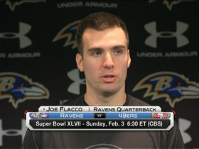 Video - Joe Flacco on Super Bowl: 'We realize how special it is'