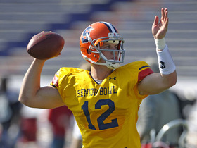 Watch: Mayock breaks down Senior Bowl QBs