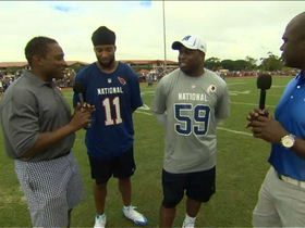 Video - Two veterans ready to enhance Pro Bowl quality