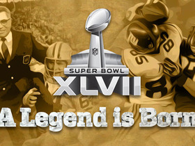 Watch: Super Bowl XLVII Trailer:  A Legend is Born