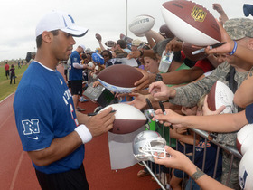 Video - Russell Wilson's unbelievable Pro Bowl experience