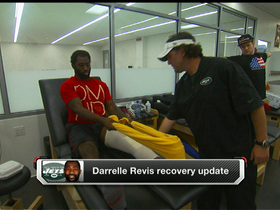 Video - Latest on New York Jets cornerback Darrelle Revis' recovery