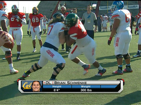 Watch: Surprising stars of the Senior Bowl
