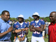 Watch: Bears' Jennings and Tillman team up at Pro Bowl