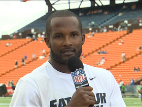 Video - Denver Broncos cornerback Champ Bailey: 'It's an honor to come out here'