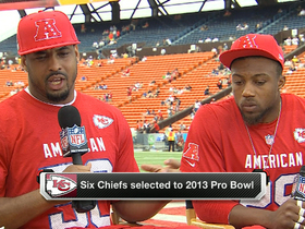 Video - Chiefs charged about Pro Bowl
