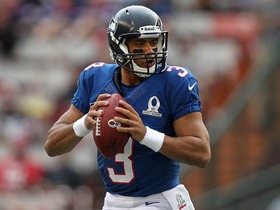 Video - Seattle Seahawks quarterback Russell Wilson to Arizona Cardinals wide receiver Larry Fitzgerald for TD