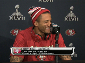 Video - San Francisco 49ers QB Colin Kaepernick: 'I let him win the first one'