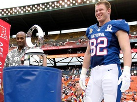Watch: 2013 Pro Bowl: Kyle Rudolph highlights