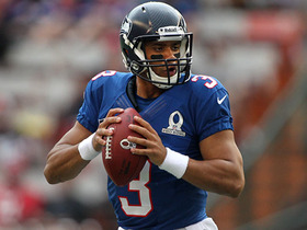 Watch: 2013 Pro Bowl: Russell Wilson highlights
