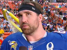 Watch: Allen: 'It's an honor' to play in Pro Bowl