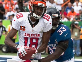 Watch: 2013 Pro Bowl: A.J. Green highlights