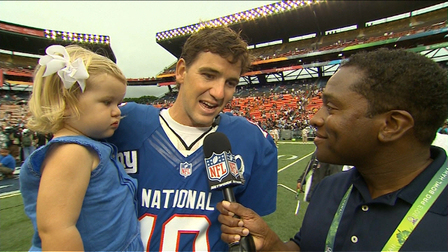 super popular 3c1c6 c4926 New York Giants quarterback Eli Manning likes 2013 Pro Bowl ...