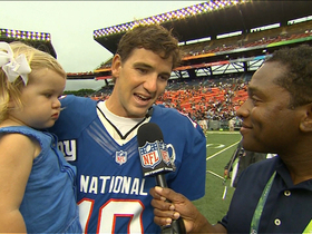 Video - New York Giants quarterback Eli Manning likes 2013 Pro Bowl intensity