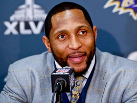 Video - Baltimore Ravens Ray Lewis living in moment, not reflecting on week of 'lasts'