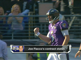 Video - Baltimore Ravens quarterback Joe Flacco aiming for Peyton-like contract