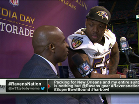 Video - Baltimore Ravens linebacker Terrell Suggs takes some time with Deion Sanders