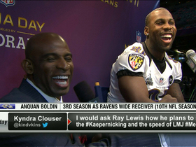 Video - Baltimore Ravens wide receiver Anquan Boldin: 'It is rare that you get this opportunity'