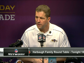 Video - Baltimore Ravens head coach John Harbaugh defends linebacker Ray Lewis