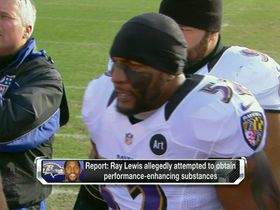 Video - Latest on Baltimore Ravens linebacker Ray Lewis banned substances allegations