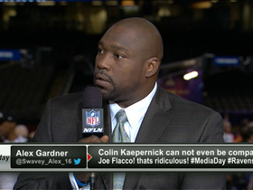 Video - Warren Sapp in shock from questions on Ray Lewis