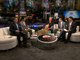 Video - Daryl 'Moose' Johnston joins 'NFL AM'