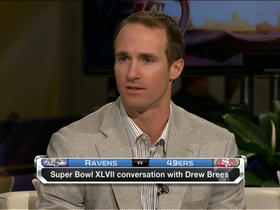 Video - New Orleans Saints quarterback Drew Brees thinking long term on player safety