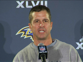 Video - Baltimore Ravens head coach John Harbaugh on Ray Lewis allegations: 'It's not even a factor""