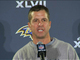 Watch: Harbaugh on Lewis allegations: &#039;It&#039;s not even a factor&#034;