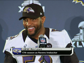 Video - Baltimore Ravens linebacker Ray Lewis 'no credibility' to allegations