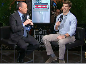 Video - New York Giants quarterback Eli Manning reflects on Super Bowl experiences