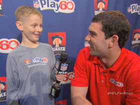 Watch: NFL Fan Pass: Kid interviews Andrew Luck for Play 60
