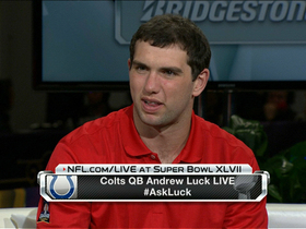 Video - Andrew Luck talks 2013