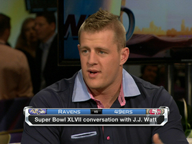Video - J.J. Watt on MVP: 'We need a defensive guy to break through'