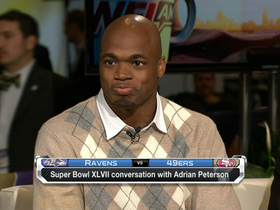 Video - Adrian Peterson: 'I am the MVP'