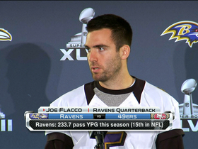 Video - Joe Flacco talks offensive balance