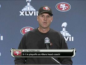Video - San Francisco 49ers head coach Jim Harbaugh: 'Nobody does it better than Gore'