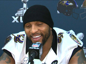 Video - Baltimore Ravens linebacker Ray Lewis excited for final game