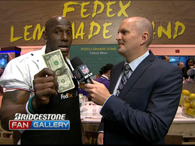 Video - Donald Driver's new job