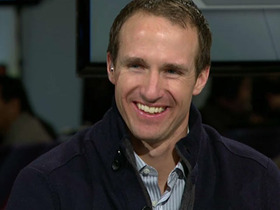 Watch: Drew Brees on Super Bowl, Russell Wilson and more