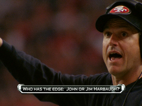 Watch: 'No Huddle': Which Harbaugh has the advantage?