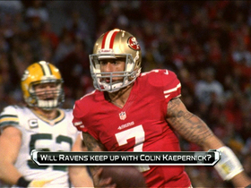 Watch: 'No Huddle': Kaepernick too much for Ravens?